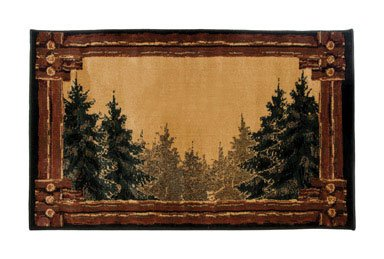 HEARTH RUG HCFT BRN by GOODS OF THE WOODS MfrPartNo 11020 (Good Hearth)