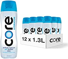 CORE Hydration, Nutrient Enhanced Water, Perfect 7.4 Natural pH, Ultra-Purified With Electrolytes and Minerals, Cup Cap...