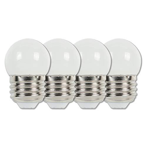 (Westinghouse Lighting 4511220 7-1/2-Watt Equivalent S11 White LED Light Bulb with Medium Base (4)