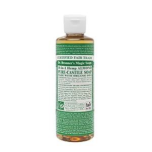 Dr. Bronner's Organic Almond Pure-Castile Li...