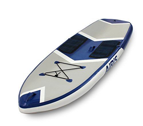 Walker Bay ARIS SUP 9 Series Hard Top Inflatable Board, Small, Blue/White (Walker Inflatable Bay)