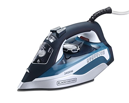 Black & Decker X2150 2200-Watt Auto-Shut Off Steam Iron, 220 Volts (Not for USA - European cord) by BLACK+DECKER