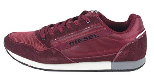 Diesel - Caña baja hombre rojo - rojo oscuro