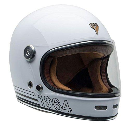 By City Helm Retro Roadster Faser White Gr/ö/ße XL