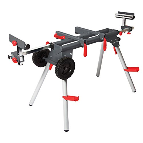PROTOCOL Equipment WS-077 Contractor Miter Saw Workstation (Tool Brackets Saw Mounting Workstation)