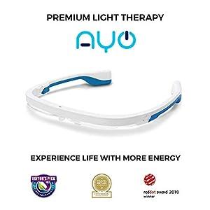 AYO: Premium Light Therapy | Sleep Better – Boost Energy – Beat Jet Lag | As Seen On ABC News | Free goAYO App.