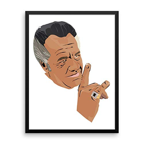 Lee Tee The Sopranos Paulie Walnuts Gift Poster for Fan Poster Home Art Wall Posters [No Framed]