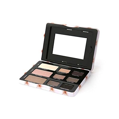 Beauty Creations 9 Colors Eyeshadow Tin Palette Case