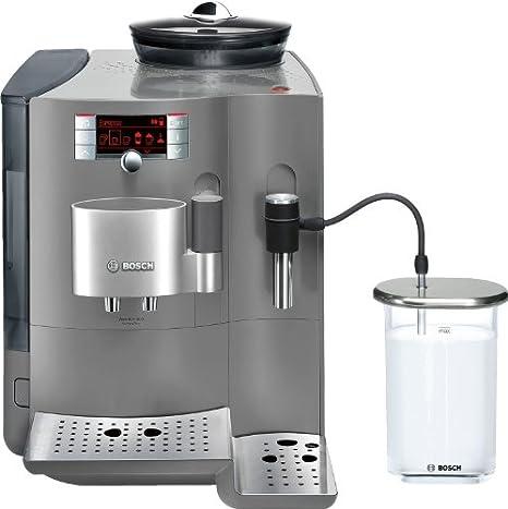 Bosch TES71355DE - Cafetera automática, acabado metalizado, color ...