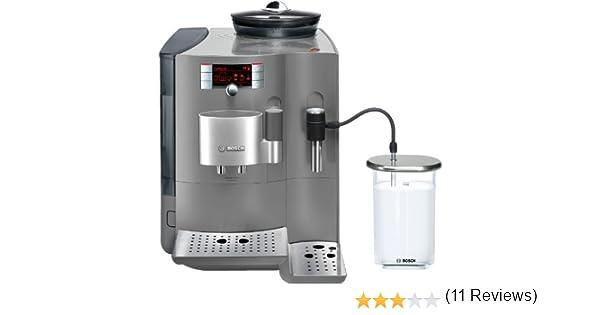 Bosch TES71355DE - Cafetera automática, acabado metalizado, color gris: Amazon.es: Hogar