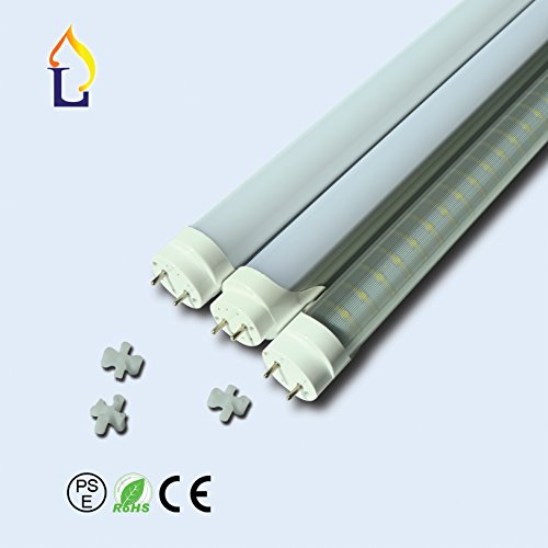 (10 Pack) Emergency T8 LED Tube Light With Battery SMD2835