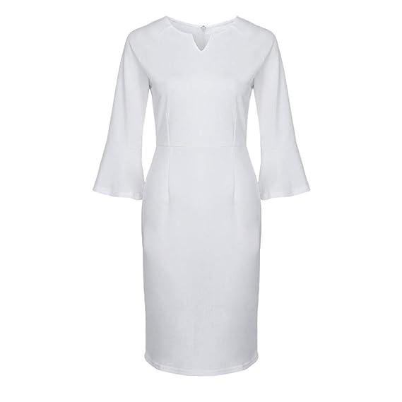 Vestido Ceñido De Corte Ceñido Para Mujer Vestido De