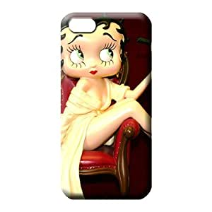 iphone 6plus 6p Collectibles Protective fashion phone carrying case cover betty boop christmas holidays