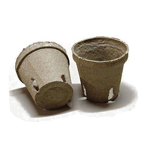 Vasetti da semina biodegradabili in torba - 20 pz. Jiffy