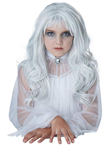 California Costumes Child's Ghost Wig, Gray, One Size (Girls Kids Wigs)