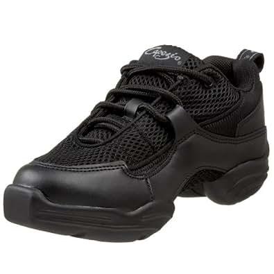 Capezio Women's DS11 Fierce Dance Sneaker,Black,3 M US