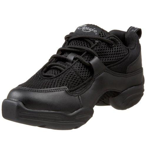 Capezio Women's DS11 Fierce Dance Sneaker,Black,7.5 M US