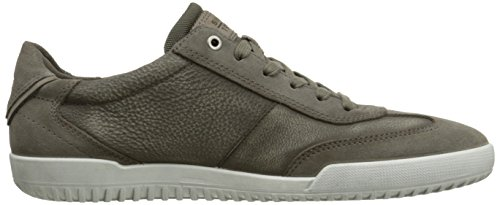 Ecco Mens Graham Retro Sneaker Oxford Warm Grey