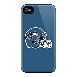 High Impact Dirt/shock Proof Case Cover For Iphone 4/4s (seattle Seahawks 4)