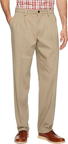 Dockers Men's Easy Khaki D3 Classic Fit Pleated Pants Timberwolf 40 36