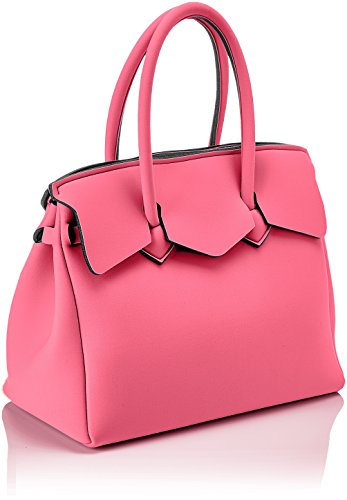 Mujer Blogger MY Bolso BAG Miss Rosa mano de SAVE PYZBqWCww