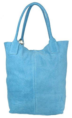 A Handbags Blue Borsa Light Spalla Girly Donna wOEx5Y