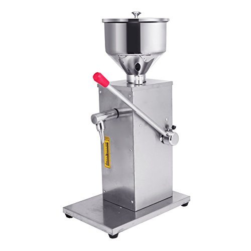 Investment BEAMNOVA Manual Liquid Filling Machine Stainless Steel 5-50ml for Cream Shampoo Cosmetic Bottle Pneumatic Filler online
