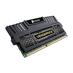 Corsair Vengeance 16GB (2 x 8 GB) DDR3 1600 MHz (PC3 12800) Desktop Memory (CMZ16GX3M2A1600C10)