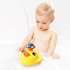 Bath Toys, Bathtub Toys, Little Yellow Ducks Spray Water, Four Spray Modes, Each Duck has a Different Spray Mode,