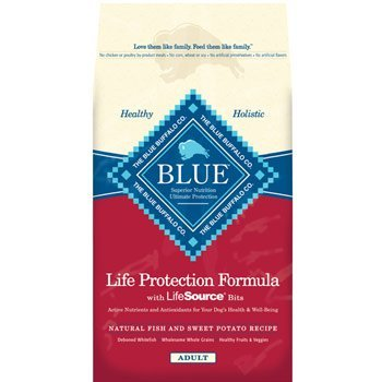Blue Buffalo Fish and Sweet Potato Adult Dog Food, My Pet Supplies