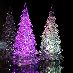 christmas tree light with glitter effect by snow white - Glitter Christmas Tree