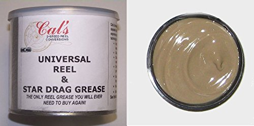 Cal's Universal Reel and Drag Grease (Tan) 1 ()