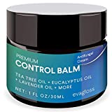 Antifungal Cream Repair Anti-Itch Balm for Face & Body, Athletes Foot, Ringworm,Eczema, Dry Skin, Jock Itch,Nail Fungal Infections, Antibacterial Intense Moisture, Gentler and Safer by Evagloss