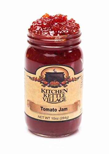 Tomato Jam Preserves, Kitchen Kettle Village, 10 Oz. Jars (Pack of 2)