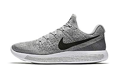 Image Unavailable. Image not available for. Colour  Nike Men s Lunarepic  Low Flyknit 2 Wolf Grey Black Cool Grey Running Shoe 11 14042e481