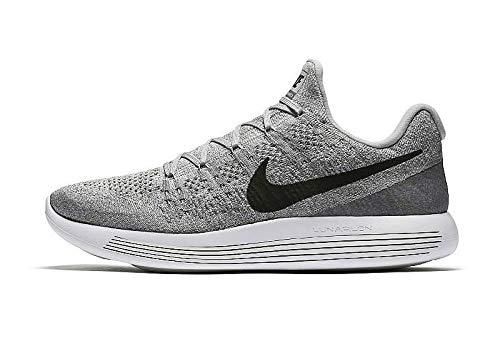 405555635255 Nike Men s Lunarepic Low Flyknit 2 Wolf Grey Black Cool Grey Running Shoe  11 Men US  Buy Online at Low Prices in India - Amazon.in