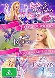 Barbie: A Fashion Fairytale / The Magic of Pegasus / Rapunzel