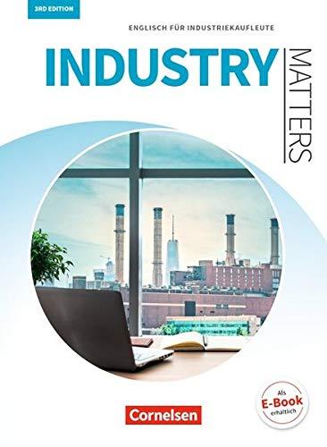 Matters Wirtschaft   Industry Matters 3rd Edition  A2 B2   Englisch Für Industriekaufleute  Schülerbuch