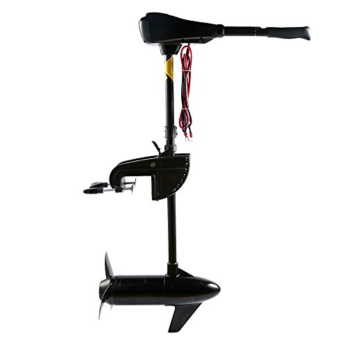 Cloud Mountain 86LBS Thrust Electric Trolling Motor for Fishing Boats Freshwater and Saltwater Use