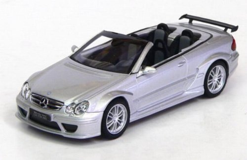 Kyosho 1/43 Scale diecast 03219S Mercedes Benz CLK DTM AMG Cabriolet silver