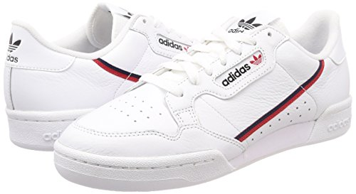 80 Adidas Escarl Hommes ftwbla Blanches Maruni 000 Pour De Fitness Continental Chaussures 0ExwIqEF
