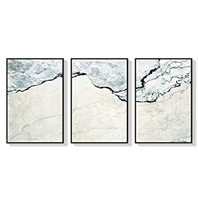 Fascinating Craft, Created Just For You, Framed for Living Room Bedroom Abstract Zen for x3 Panels