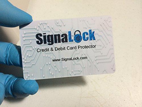 Security Protector RFID Blocker SignaLock Blue ()