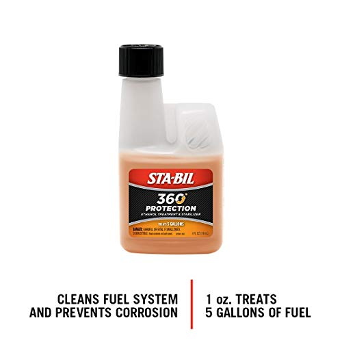 STA-BIL 22295 Small Engine Ethanol Treatment and Fuel Stabilizer