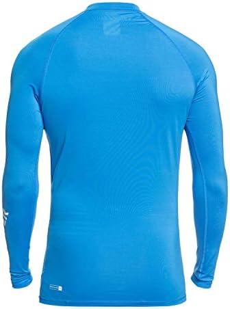 Quiksilver Men's All Time Ls Long Sleeve Rashguard Surf Shirt