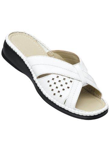 Maksimal Komfort Sandal Hvit
