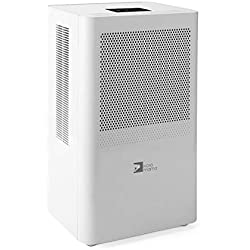 Dehumidifier,Portable Dehumidifier 68oz per day with 3L(6.4 Pints) Water Tank for Room Up To 323 Sq.ft(30m²),mini Dehumidifier for home bathroom Kitchen Bedroom Basement,Auto on/off Quiet Dehumidifier