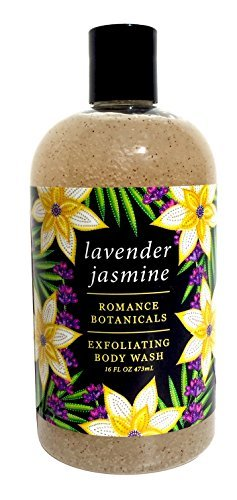 Greenwich Bay LAVENDER JASMINE Exfoliating Body Wash for Men and Women-Gentle Body Scrub Parabens Free -Sulphates Free-Blended with Loofah, Apricot Seed-Moisturizing Shea Butter -16 oz. (Gentle Exfoliating Moisturizing Body Wash)