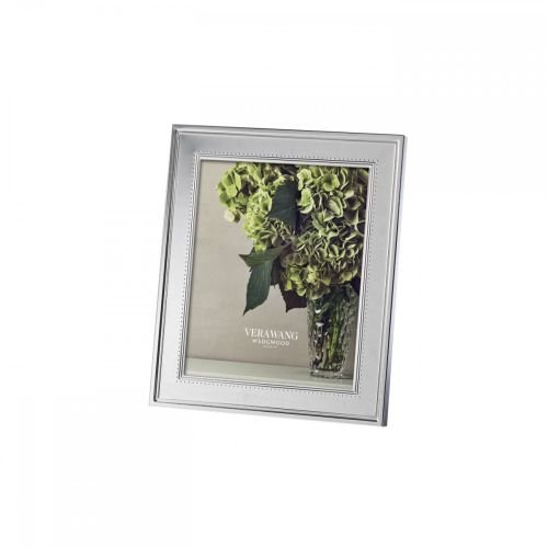 UPC 091574035765, Vera Wang by Wedgwood Grosgrain 8-Inch by 10-Inch Frame