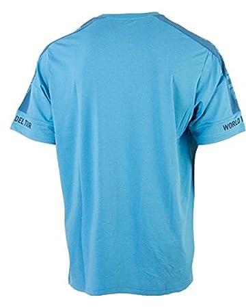 Bull padel Camiseta, Turquesa más vigorosa A